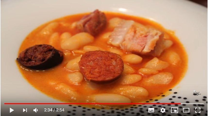 fabada asturiana, platos tradicionales espanoles, 7 platos tipicos espana