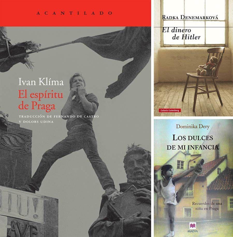 libros checos, libros de autores checos