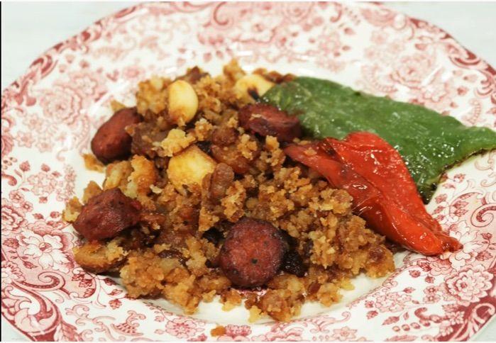 migas extremenas, como hacer migas, platos tradicionales espanoles, 7 platos tipicos espana