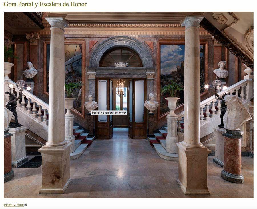 museo cerralbo, visita virtual, programa especial coronavirus