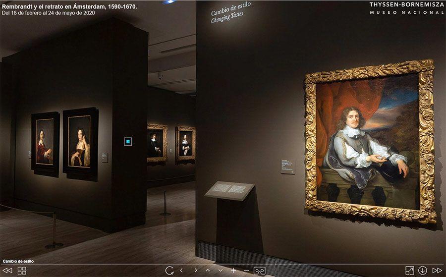 museo thyssen bornemisza, visita virtual rembrand, programa coronavirus