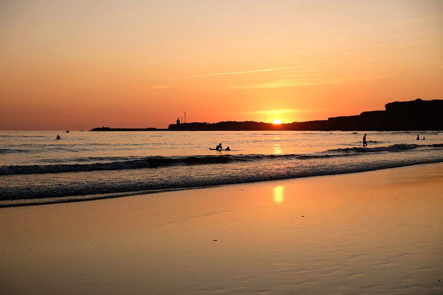 playa fuente del gallo, conil, playas familiares cadiz