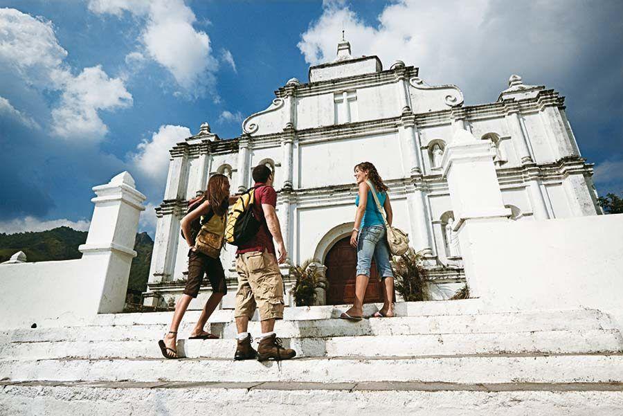 Iglesia de Panchimalco, viaje el salvador