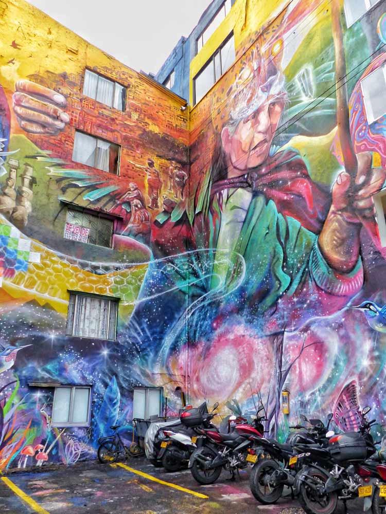 grafitis bogota, murales colectivo apc