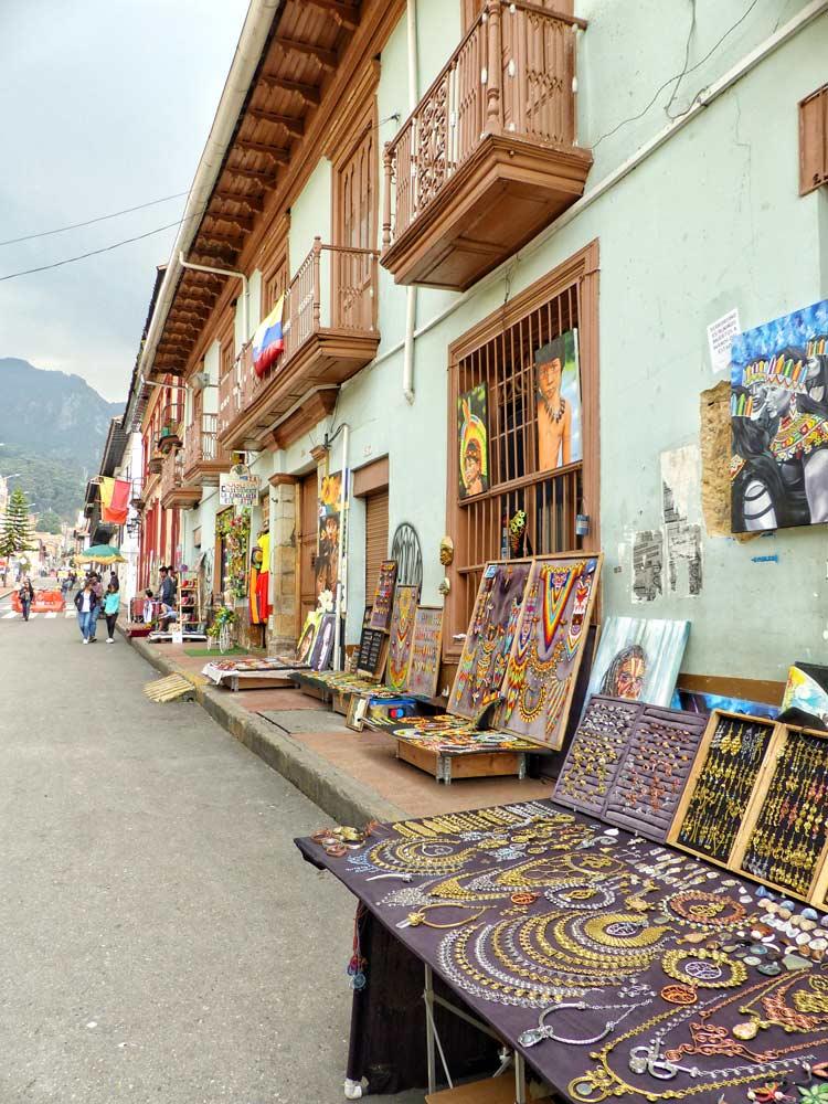 mercadillos candelaria, viaje bogota colombia