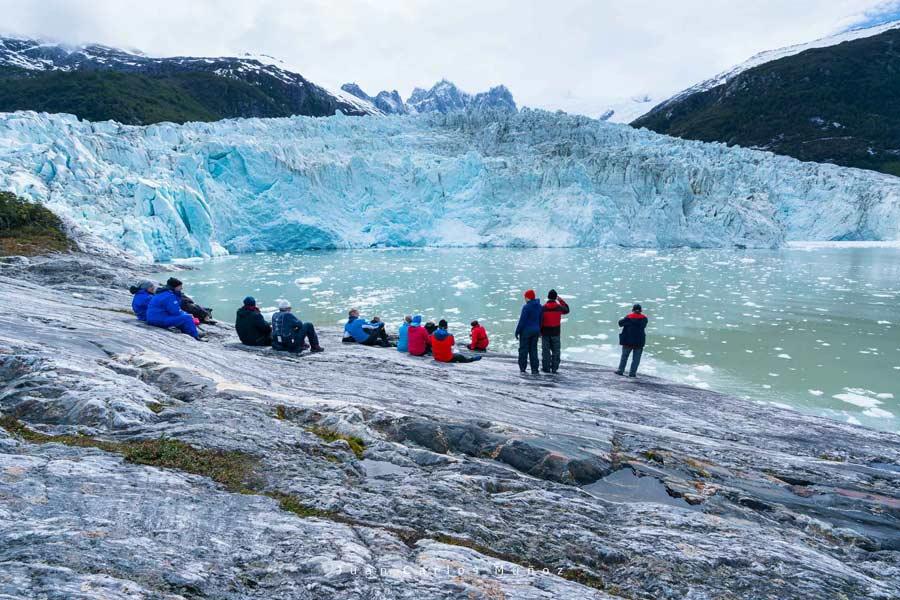patagonia chilena, viajes mujeres, glaciar pia