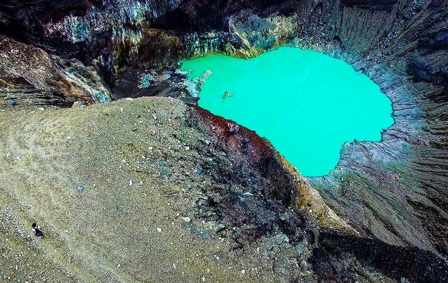 turismo el salvador, volcan santa ana