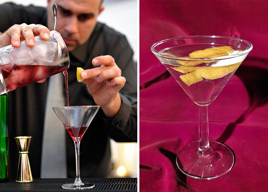 vodkatini, bartender
