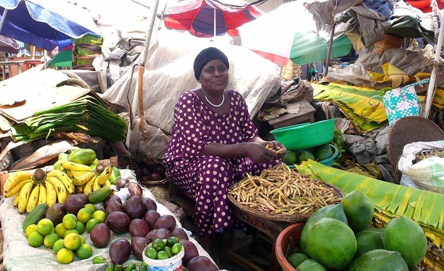 mercado de uganda