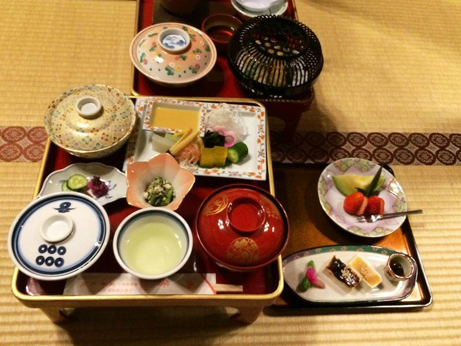 cena vegetariana japon