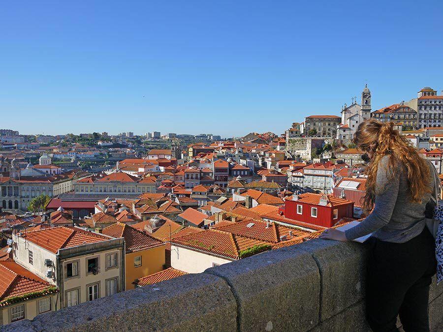 mirador de oporto, viajar sola a Oporto