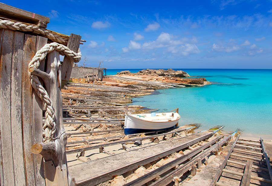 playas formentera, es calo de sant agusti