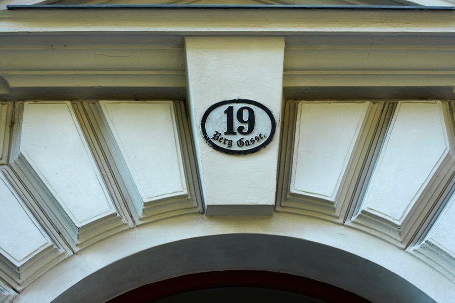 Portal de la vivienda Freud, freud netflix, ruta freud en viena, museo de freud viena