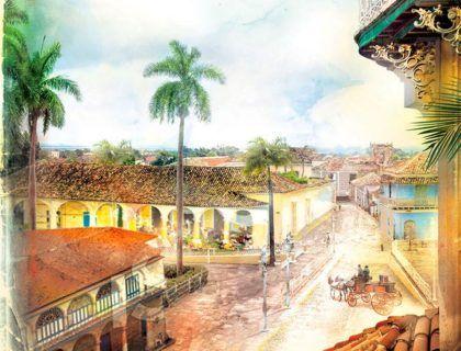 casa en Amargura, esclavos en cuba