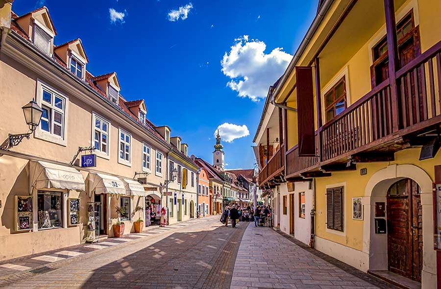 Calle Tkalciceva, viaje zagreb