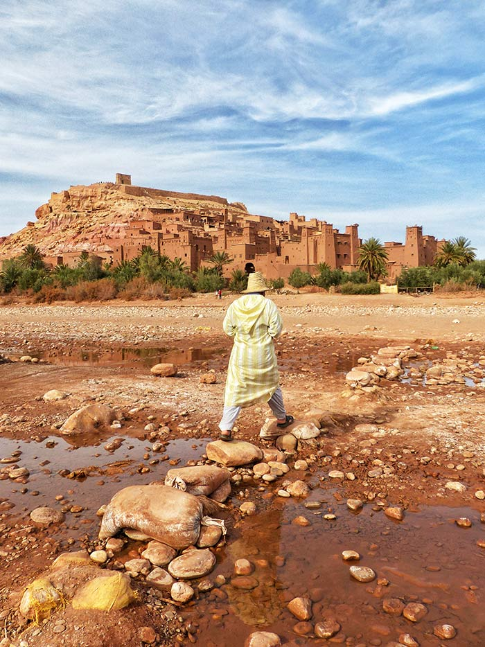 viaje marruecos mujeres, ait benhaddou