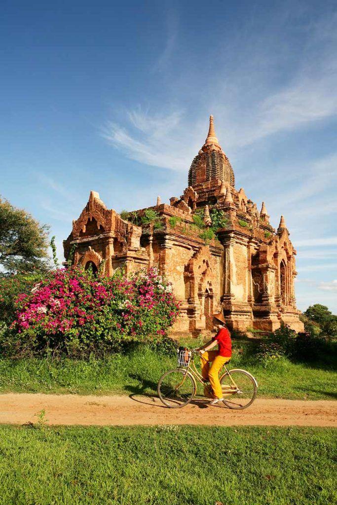 pagodas de bagan, viaje Myanmar