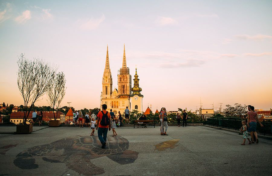 Catedral de Zagreb, viaje croacia