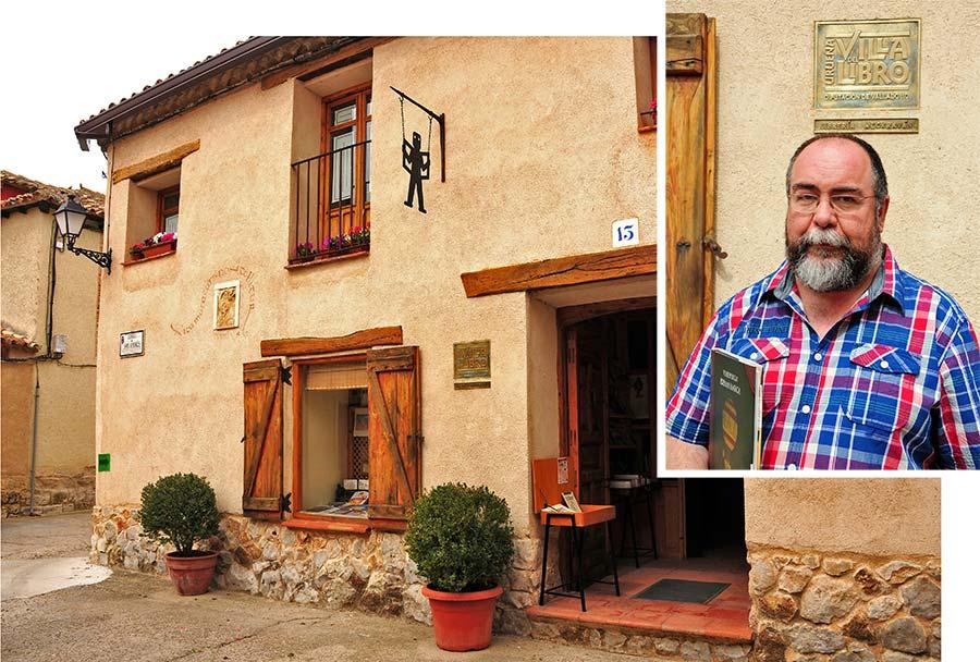 jesus martinez, libreria alcaravan, uruena, villa del libro, excursiones valladolid