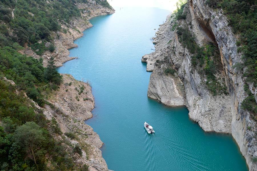 barco mont rebei, excursiones en lleida