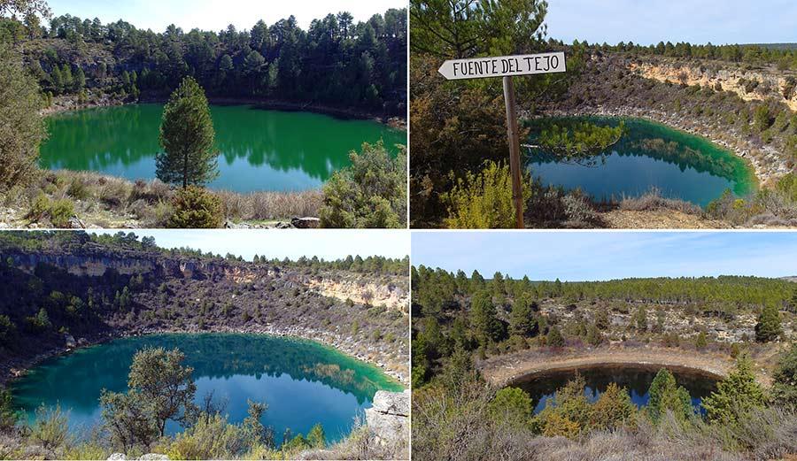 lagunas de canada del hoyo, excursion cuenca