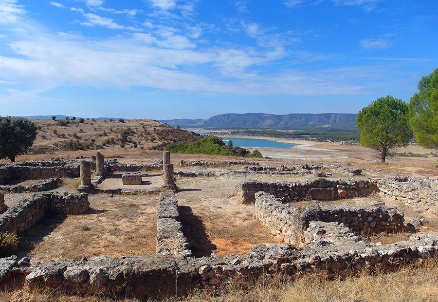 ruinas ercavica, excursion cuenca