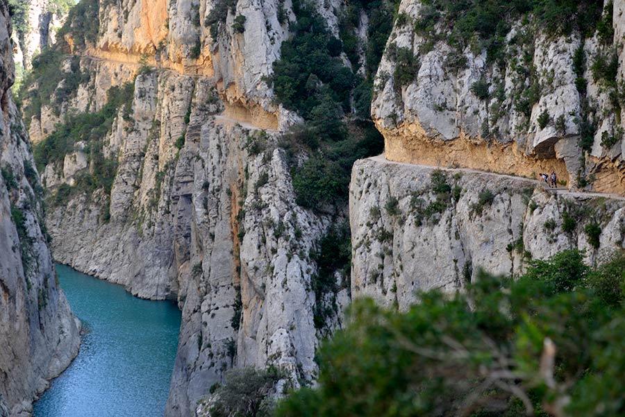 gr1, caminos lleida, excursion montrebei