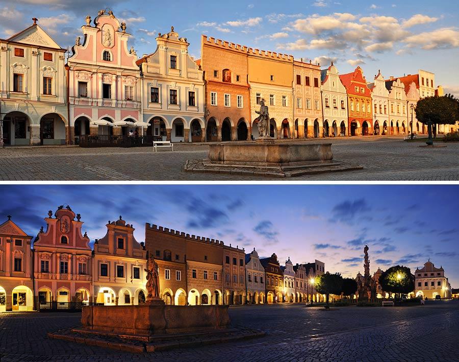telc, viajar sola chequia