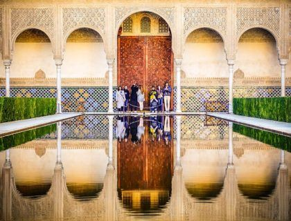 viajes mujeres granada, Alhambra, viajes por Espana