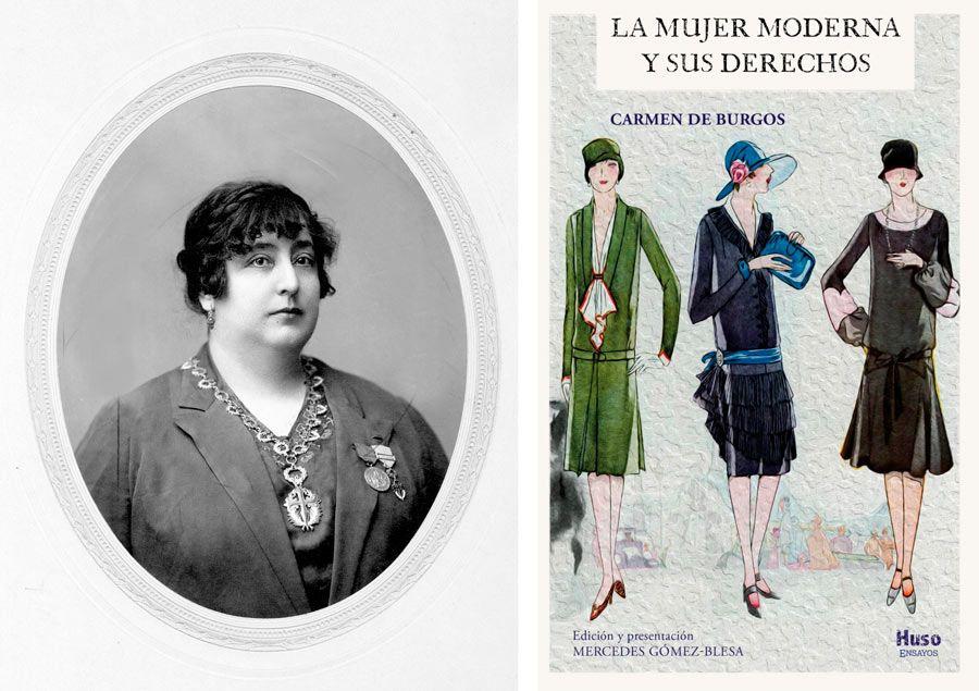 Carmen de Burgos, periodista, escritora, almeria