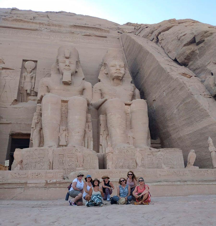 Egipto, tacones viajeros, agencia de viajes para mujeres, viajar sola en grupo