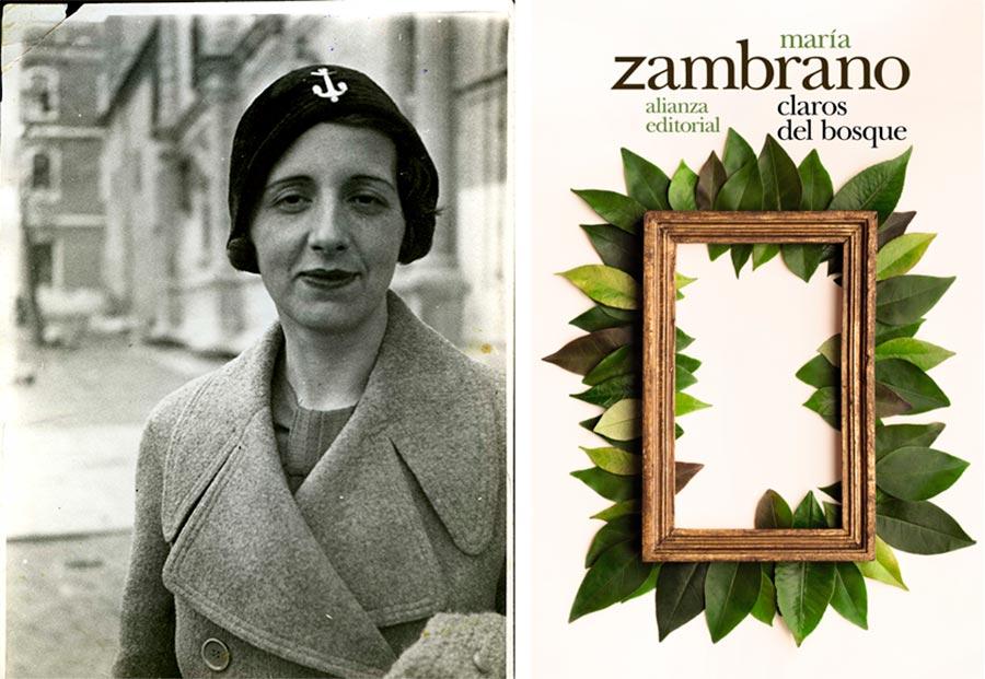 Maria Zambrano, ruta escritoras, claros de bosque