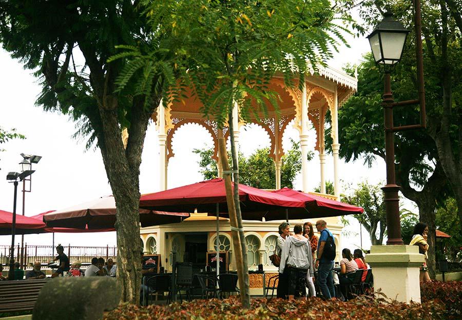 kiosco anita, plaza Constitución, la orotava, viajar sola Tenerife
