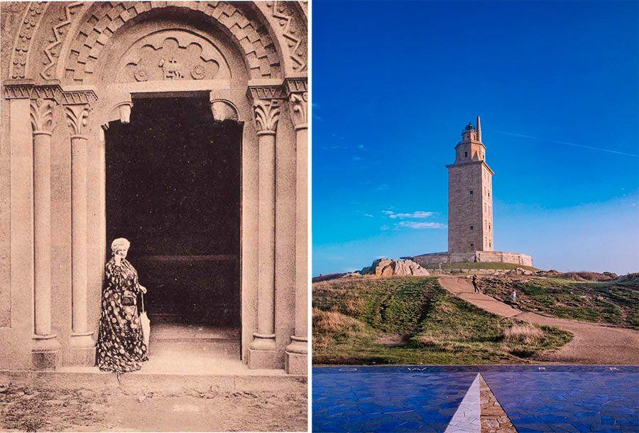 Emilia pardo bazan, torres de meiras, la coruna, torre hercules