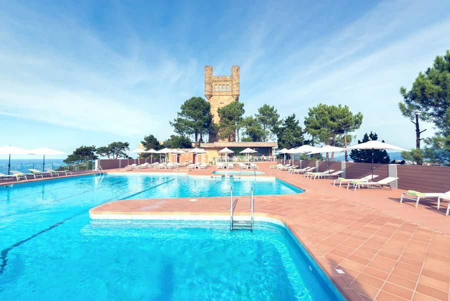 Mercure San Sebastian Monte Igueldo, piscina