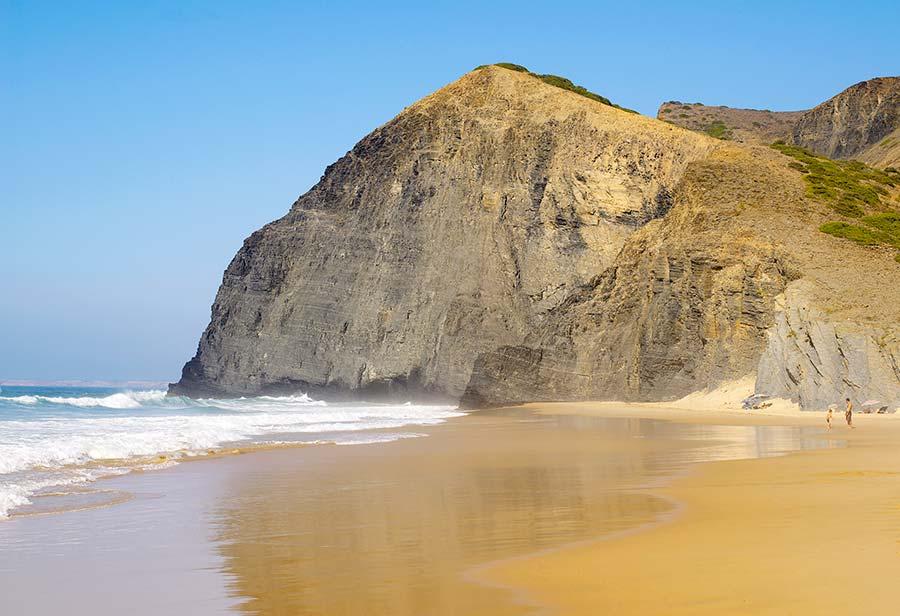 playa de barriga Algarve Sagres