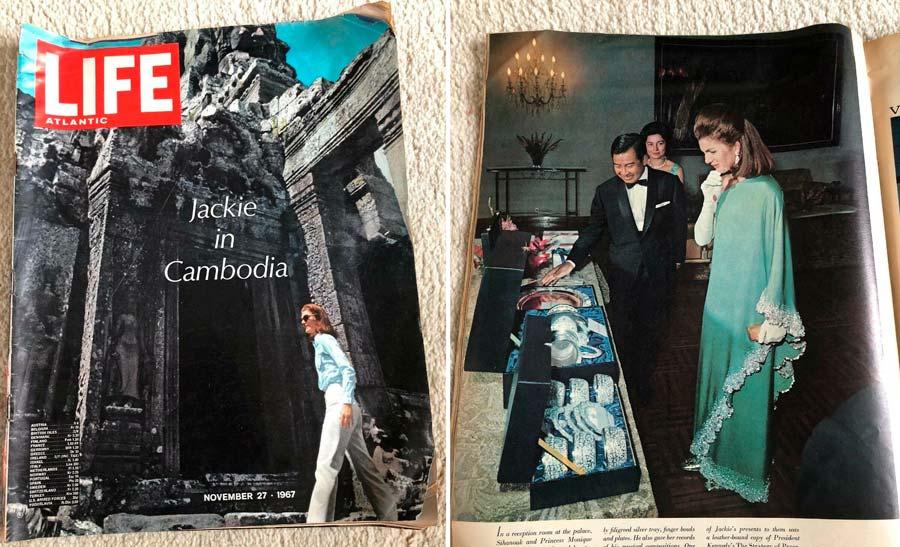 Jacqueline Kennedy, viaje Camboya