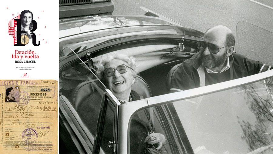 Rosa Chacel, exilio, ruta escritoras