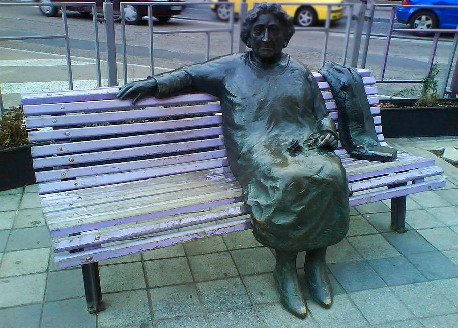 Rosa Chacel, plaza del poniente, ruta escritoras