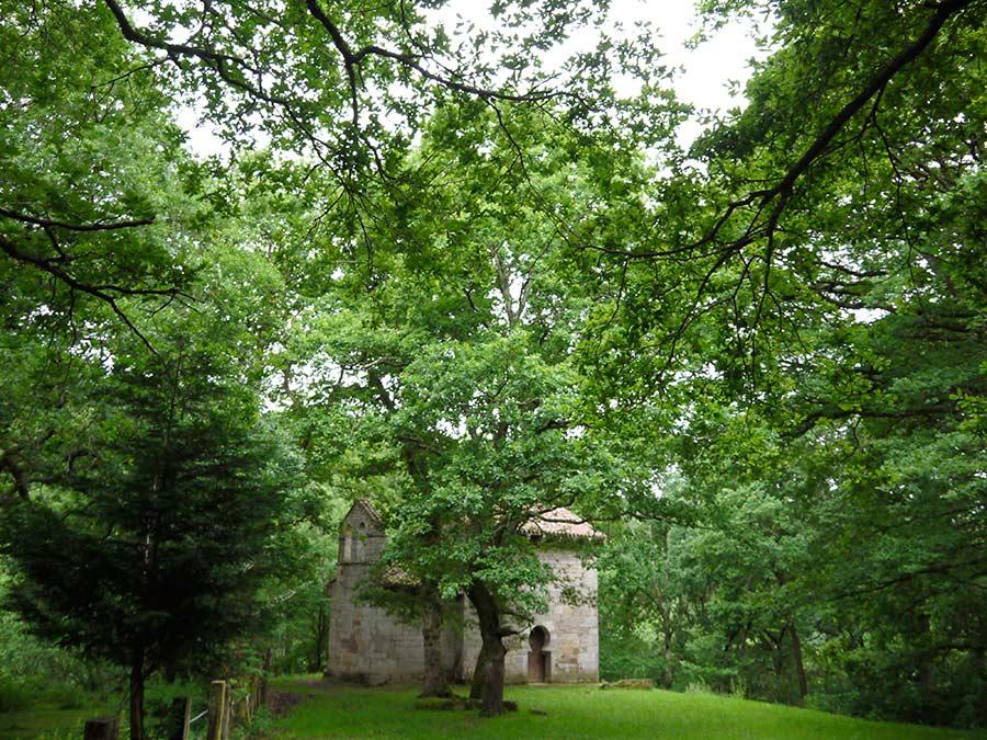 ermita san roman moroso, lugares magicos, cantabria