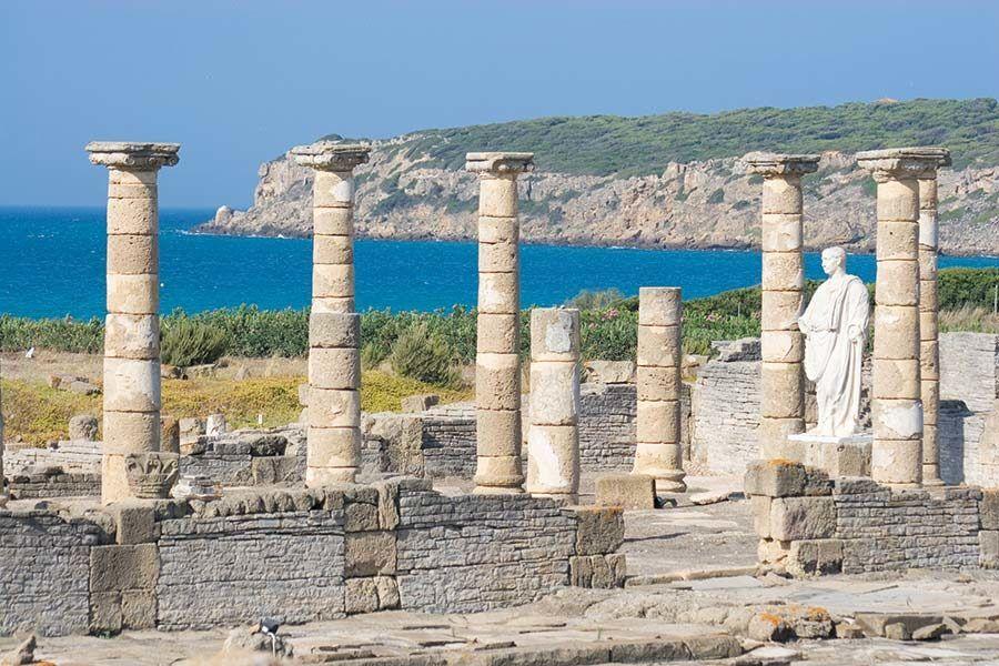ruinas baelo claudia, playa bolonia, tarifa