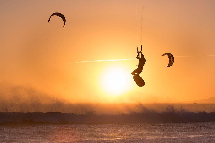 kitesurf en tarifa, viaje amigas
