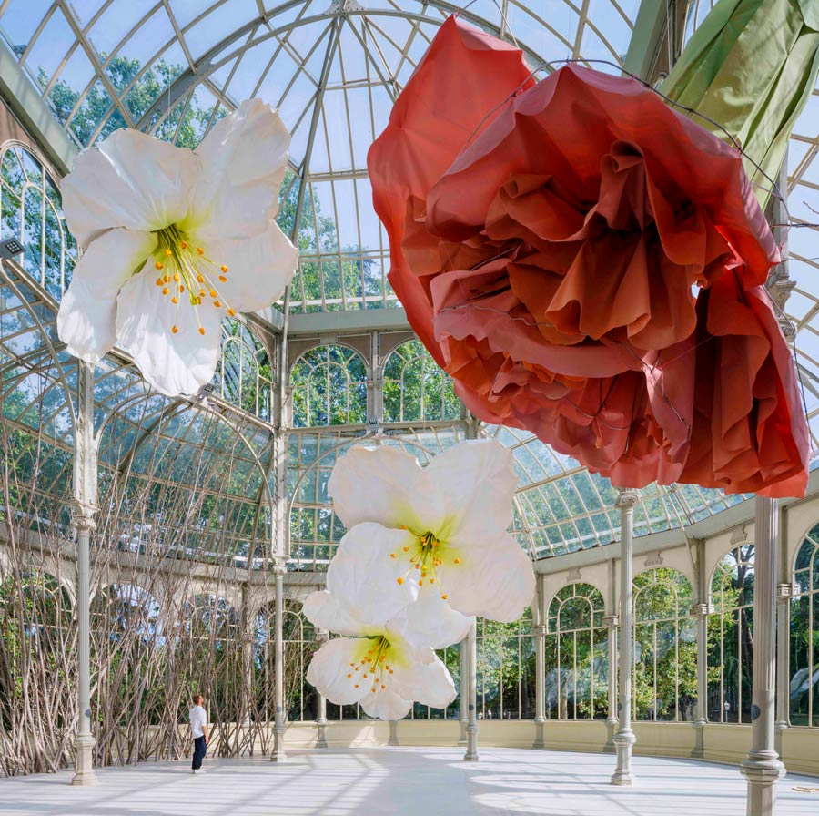 Petrit Halila, palacio cristal, parque del retiro, museo reinan Sofia,