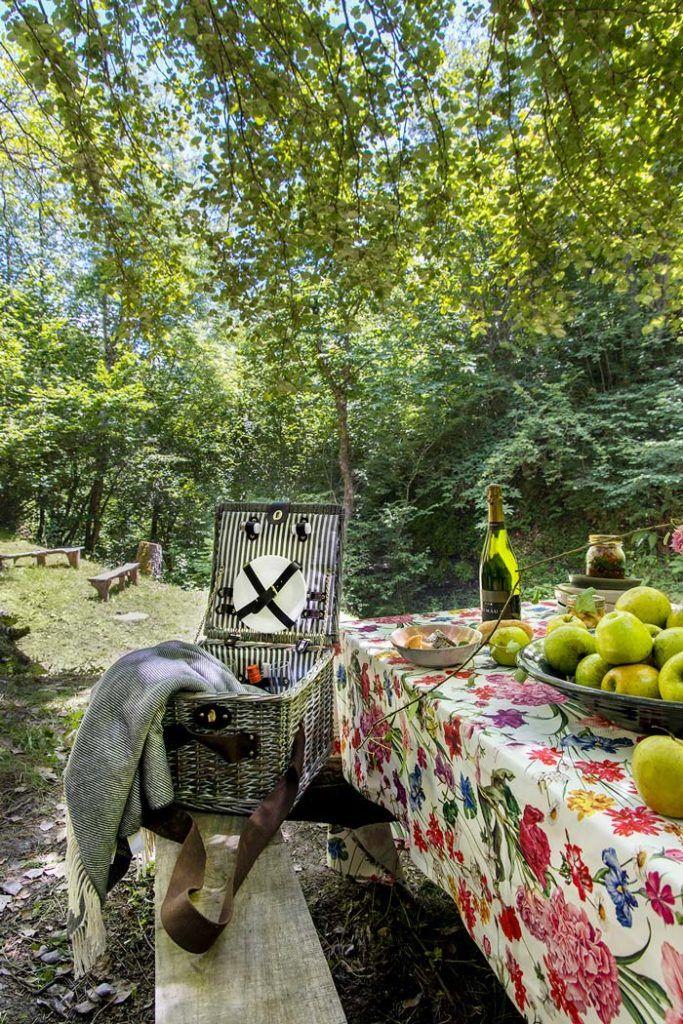 cestas picnic, tierra del agua, hotel asturias