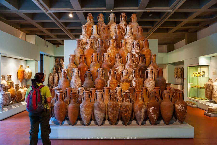Museo arqueologia, lipari, islas eolias, Lípari, en las islas Eolias.