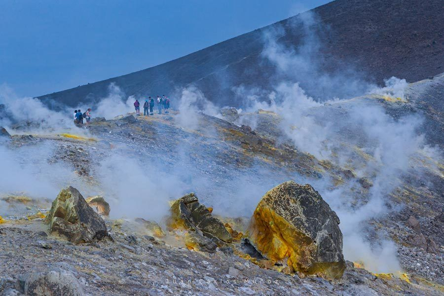 fossa di vulcano, islas italianas