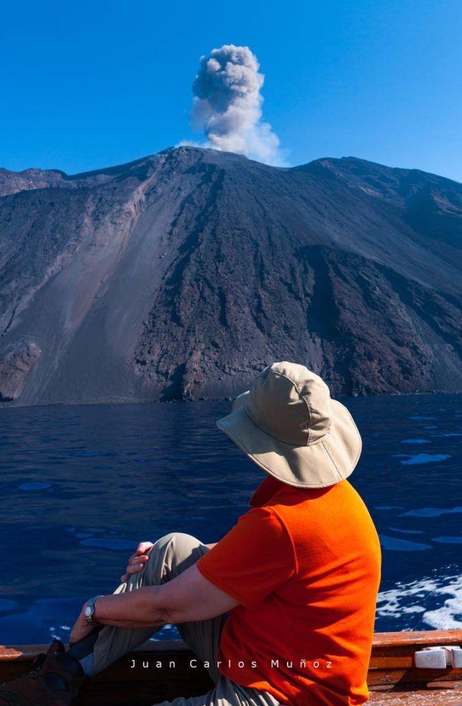 volcan Strombolicchio islas eolias