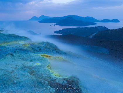 vulcano, islas eolias, islas Italia