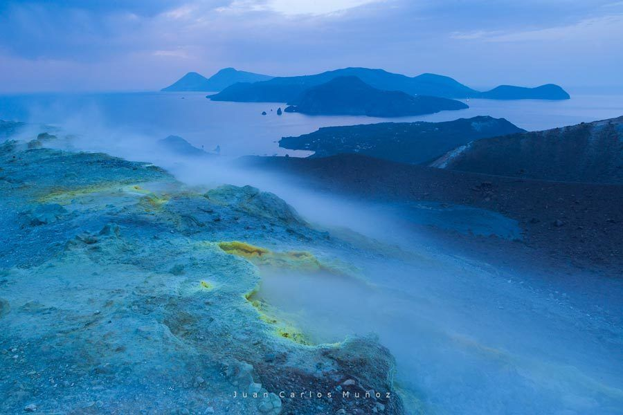 vulcano, islas eolias, islas italianas