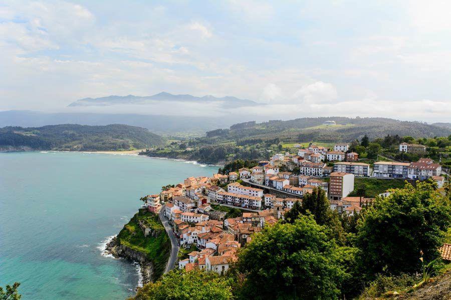 lastres, asturias, caravana, viaje espana